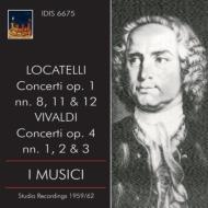 ロカテッリ:合奏協奏曲集、ヴィヴァルディ:『ラ・ストラヴァガンツァ』より アーヨ、イ・ムジチ合奏団