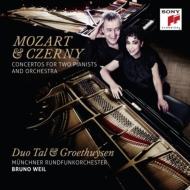 モーツァルト:2台のピアノのための協奏曲、ツェルニー:4手のためのピアノ協奏曲 タール&グロートホイゼン、ヴァイル&ミュンヘン放送管