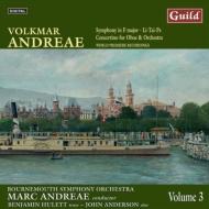 交響曲ヘ長調、歌曲集『李太白』、コンチェルティーノ M.アンドレーエ&ボーンマス響、ヒューレット