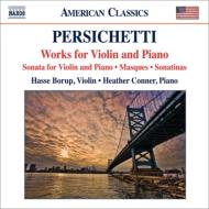 ヴァイオリンとピアノのための作品集 ボロプ、H.コナー