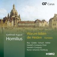 Cantatas: Homburg / Handel's Company & Choir