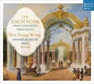 『バッハの息子たちのピアノ協奏曲と小品集』 シー・シャン・ウォン、バーゼル室内管弦楽団(2CD)