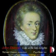 Like As The Lute Delights-lute Songs: M.chance(Ct)Beier(Lute)