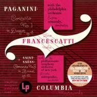 Saint-Saens Violin Concerto No.3, Paganini Concerto No.1 : Francescatti(Vn)Mitropoulos / New York Philharmonic, Ormandy / Philadelphia Orchestra