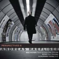 ベートーヴェン:ピアノ・ソナタ第30番、第10番、シューマン:幻想曲、ベリオ:6つのアンコールより アンドレアス・ヘフリガー