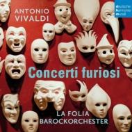 ヴィヴァルディ(1678-1741)/Concerti Furiosi: R.p.muller / La Folia Baroque O Hille Perl(Gamb) Karlak(Ob)