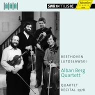 ベートーヴェン:弦楽四重奏曲第7番、ルトスワフスキ:弦楽四重奏曲 アルバン・ベルク四重奏団(1978)