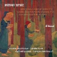 Complete Sonatas Vol.1: Dautricourt(Vn)Hurel(Fl)Raphael Pidoux(Vc)Kerdoncuff(P)