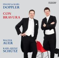 (F & K.doppler)con Bravura-flute Works: Walter Auer K-h.schutz(Fl)Traxler(P)