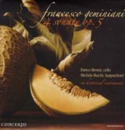 Cello Sonatas Op.5(Slct): Bronzi(Vc)Barchi(Cemb)
