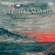 交響的序曲『天の高みに昇らん』、セレナード、カンタータ『歌』より間奏曲 C.リンドベルイ&ロイヤル・フランダース・フィル