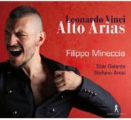 ヴィンチ、レオナルド(1690-1730)/Alto Arias: Mineccia(Ct) Cassinari(S) Aresi / Stile Galante