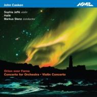 『ファーネを越えるオリオン』、管弦楽のための協奏曲、ヴァイオリン協奏曲 シュテンツ&ハレ管、S.ヤッフェ