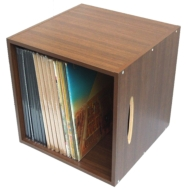 LPレコード用ラック 1マスタイプ(Wood)