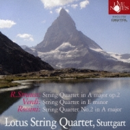 String Quartet: Lotus Sq +verdi: String Quartet, Rossini