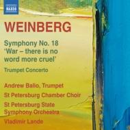 交響曲第18番『戦争、これより残酷な言葉はない』、トランペット協奏曲第1番 V.ランデ&サンクト・ペテルブルク響、バリオ、他