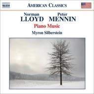 メニン:ピアノ・ソナタ、5つの小品、ロイド:ピアノ・ソナタ、ダンスのための5つの小品、他 マイロン・シルバースタイン