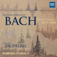 オルガンによるバッハ:フーガの技法、パッヘルベル:カノン、キリストの生誕、他 ハーバック(2CD)