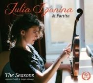 ヴィヴァルディ(1678-1741)/Four Seasons: Igonina(Vn) Ensemble Partita +akhunov