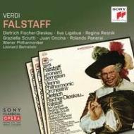 """Falstaff : Bernstein / Vienna Philharmonic, F-Dieskau, Panerai, Resnik, Sciutti, Oncina, etc (1966 Stereo)(2CD)"""