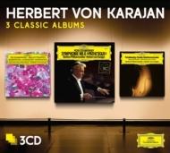 交響曲第6番『悲愴』(1976)、弦楽セレナード(1980)、3大バレエ・ハイライト、他 カラヤン&ベルリン・フィル(3CD)