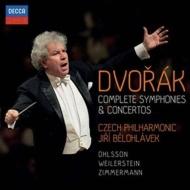 Complete Symphonies, Concertos : Belohlavek / Czech Philharmonic, Ohlsson, F.P.Zimmermann, Weilerstein (6CD)