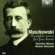 4手ピアノのための作品全集 ドメニコ・モナコ、ミケーレ・ソリマンド(3CD)