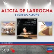 グラナドス:ゴイェスカス、スペイン舞曲集、ファリャ:ピアノ作品集 ラローチャ(3CD)