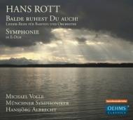 交響曲第1番、歌曲集 H.アルブレヒト&ミュンヘン響、ヴォッレ