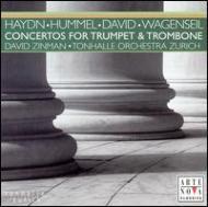Concerto Classical/Concerto For Trumpet & Trombone Segal(Tp) Bertoncello(Tb) Zinman / Zurich Tonhall