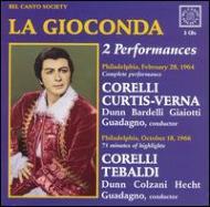 La Gioconda(2 Performances): Guadagno / Philadelphia Lyric Opera F.corelli Curtis-verna Tebaldi