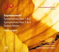 交響曲全集、スターバト・マーテル ゲルギエフ&ロンドン響、マツーエフ、スペンス、他(2SACD)(日本語解説付)