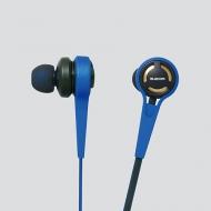 エレコム  ステレオヘッドホン  Grand Bass System  EHP-CA3580BU(ブルー)