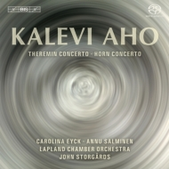 テルミン協奏曲『八季』、ホルン協奏曲 カロリナ・アイク、アンヌ・サルミネン、ストゥールゴールズ&ラップランド室内管