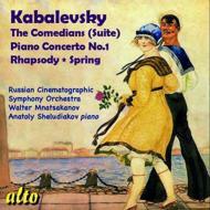 Orch.works, Piano Concerto, 1, : Mnatsakanov / Russian Cinematographic So Sheludiakov(P)