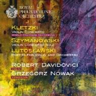 Violin Concerto: Davidovici(Vn)G.nowak / Rpo +szymanowski: Concerto, 2, Lutoslawski: Partita