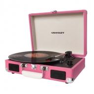 CROSLEY CRUISER レコードプレーヤー CR8005A (ピンク)