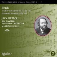 ヴァイオリン協奏曲第3番、スコットランド幻想曲 ジャック・リーベック、マーティン・ブラビンズ&BBCスコティッシュ響
