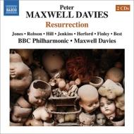 歌劇『復活』全曲 マクスウェル・デイヴィス&BBCフィル、デッラ・ジョーンズ、ロブソン、他(1994 ステレオ)(2CD)