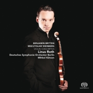 Vainberg Violin Concerto, Britten Violin Concerto : Linus Roth(Vn)Kutson / Berlin Deutsches Symphony Orchestra (Hybrid)