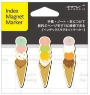 マグネットマーカー アイス柄 (文具)