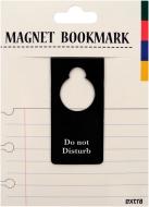 マグネットブックマーク Door Sign Black (文具)