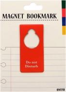 マグネットブックマーク Door Sign Red (文具)