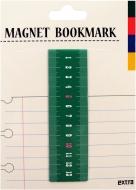 マグネットブックマーク Ruler Green (文具)