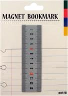 マグネットブックマーク Ruler Gray (文具)