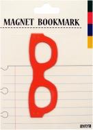 マグネットブックマーク Glasses Red (文具)