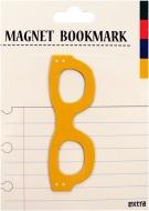 マグネットブックマーク Glasses Yellow (文具)