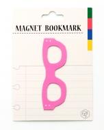 マグネットブックマーク Glasses Pink (文具)