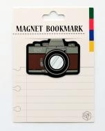 マグネットブックマーク Camera Brown (文具)
