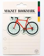 マグネットブックマーク Bicycle Red (文具)
